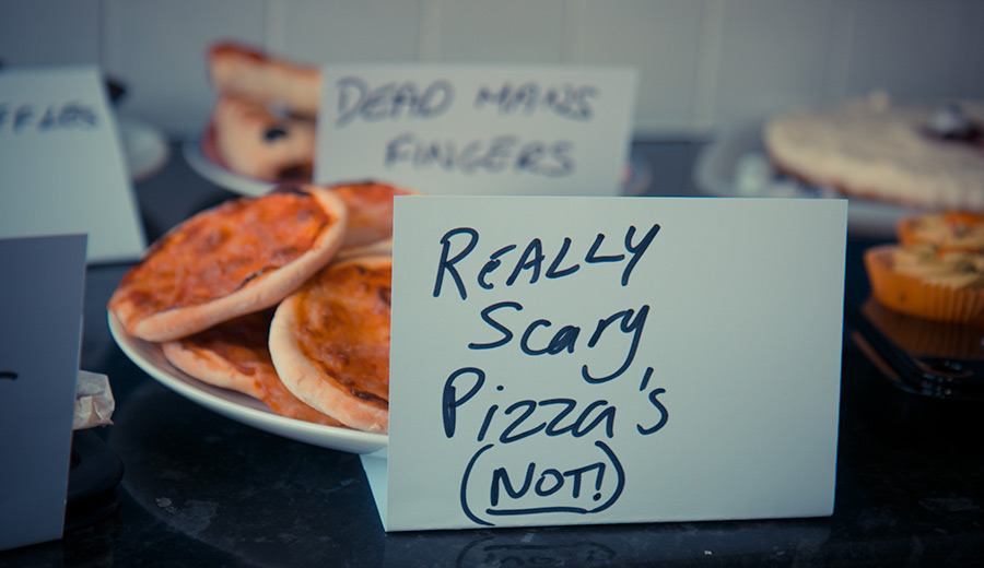Scary Pizzas Cookery Competition