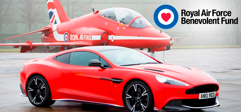 Win a limited edition Aston Martin Vanquish S Red Arrows car
